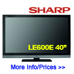 Sharp Aquos LC40LE600E